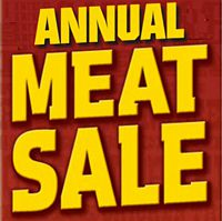 Annual Meat Sale
